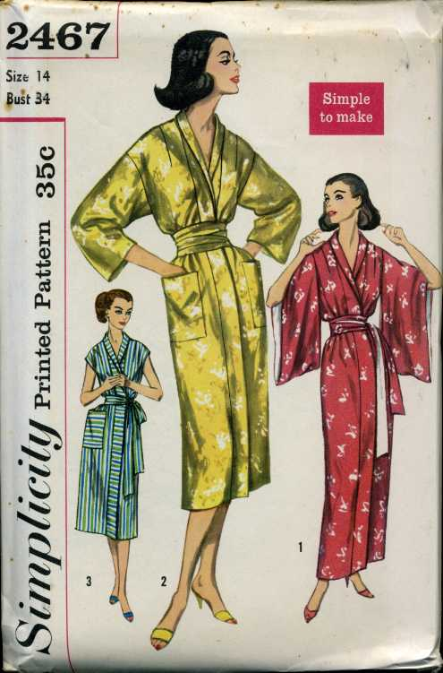 Simplicity 2467 A Vintage Sewing Patterns Fandom Powered By Wikia