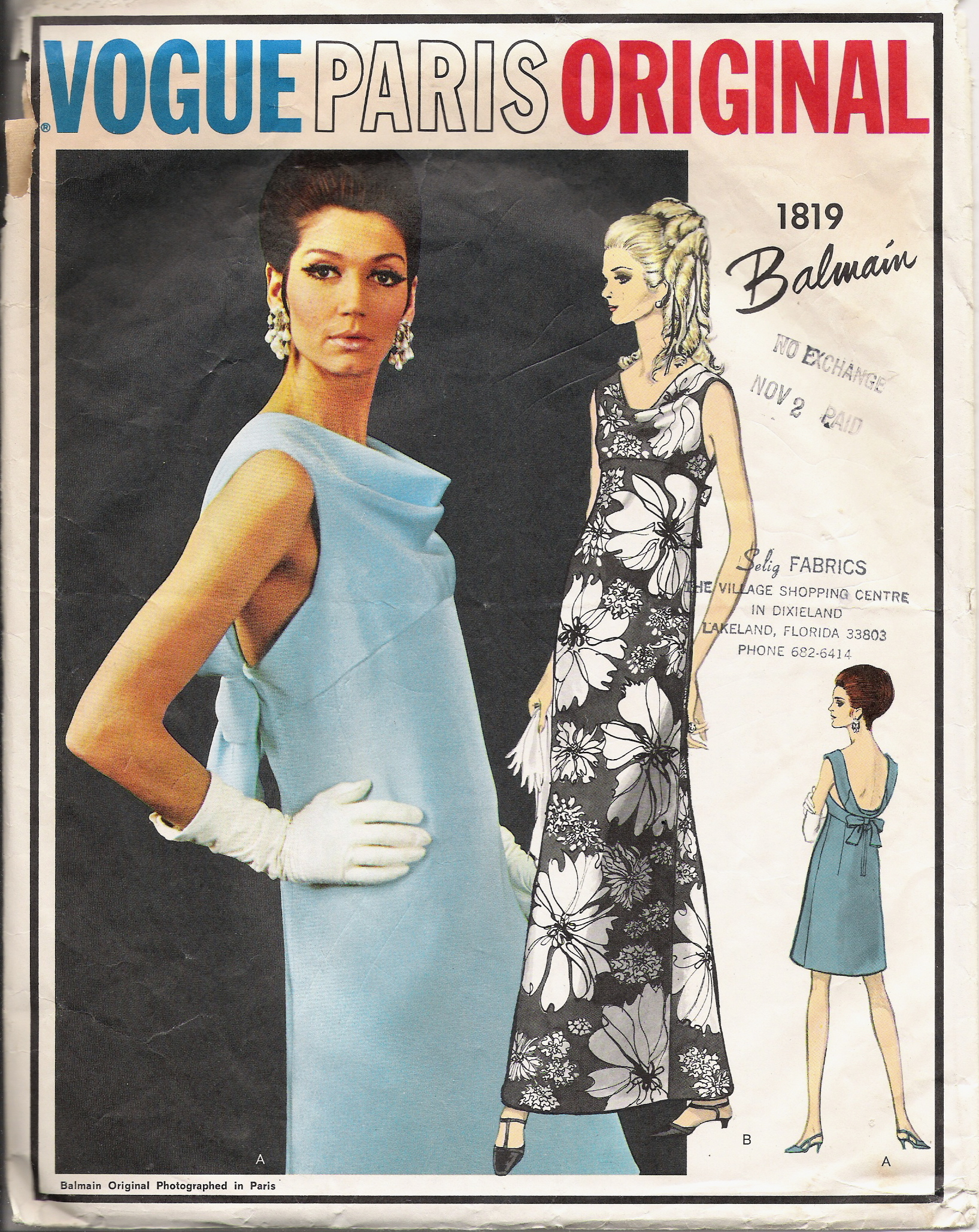 Category Pierre Balmain Vintage Sewing Patterns Fandom