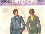 Simplicity 5883 A