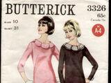Butterick 3326