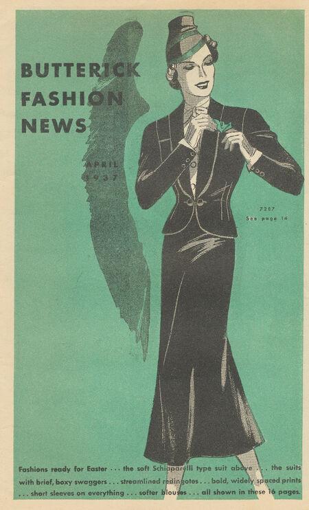 Butterick 7287 1937