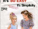 Simplicity 7252 B