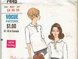 Vogue 7445 A