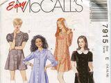 McCall's 7915 A