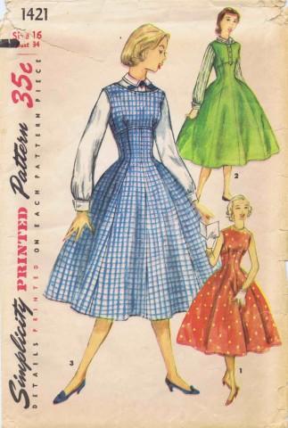 Simplicity 1955 1421