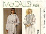 McCall's 3323 A