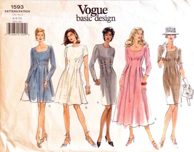 Vogue1593dress