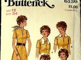 Butterick 6136 A