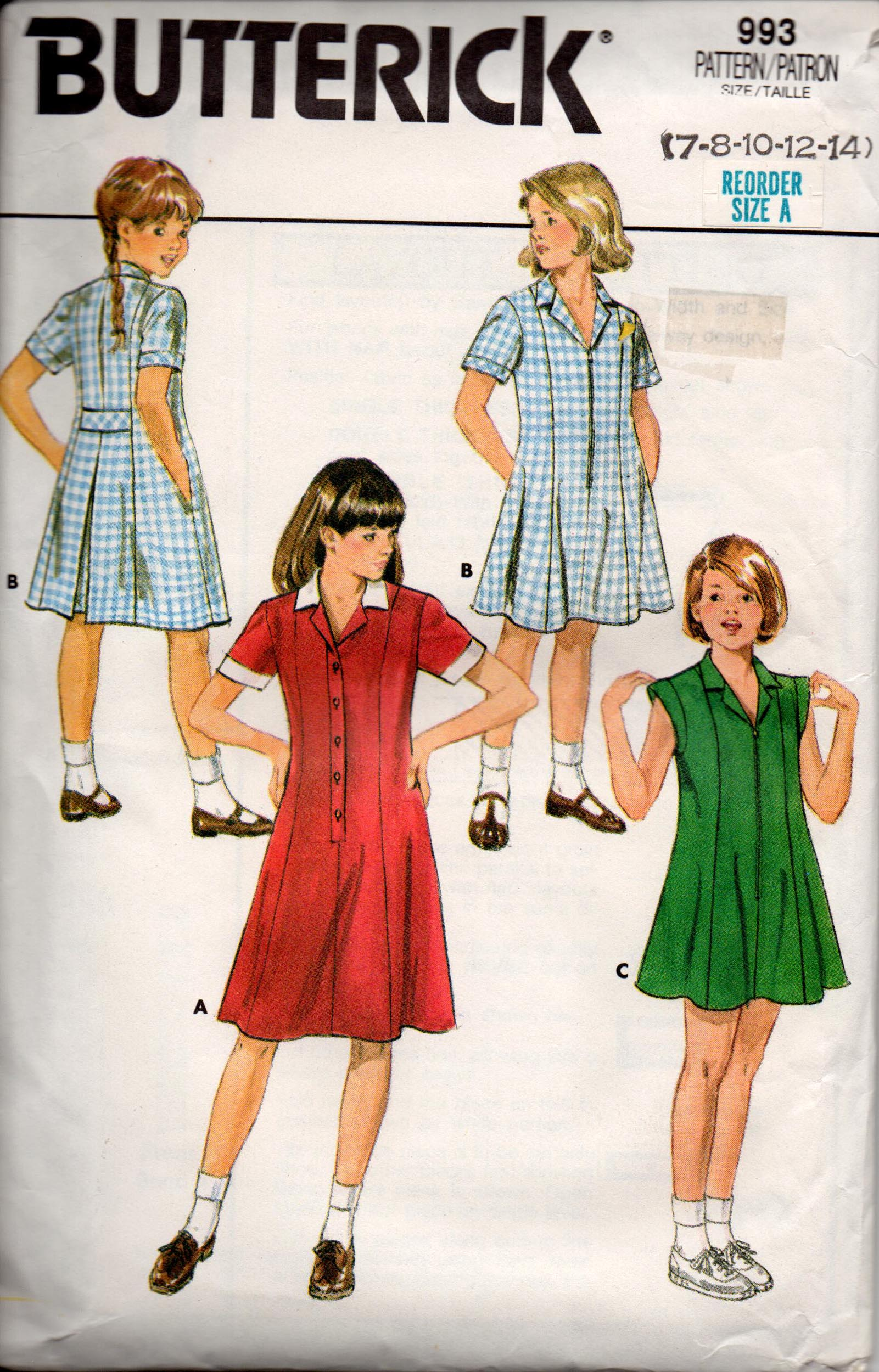 Butterick 993 vintage sewing patterns fandom powered by wikia img254 jeuxipadfo Images