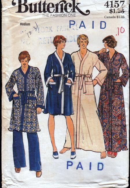 Vintage robe Butterick 4158 Penelope Rose at Artfire.com (2)
