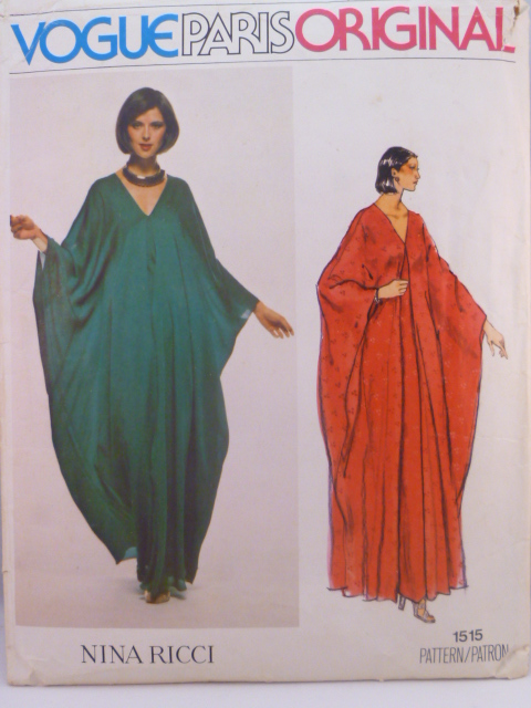 Vogue 1515 A | Vintage Sewing Patterns | FANDOM powered by Wikia