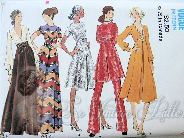 Vogue 7927 Vintage Sewing Patterns Fandom Powered By Wikia