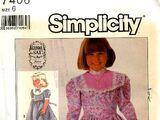 Simplicity 7406 A