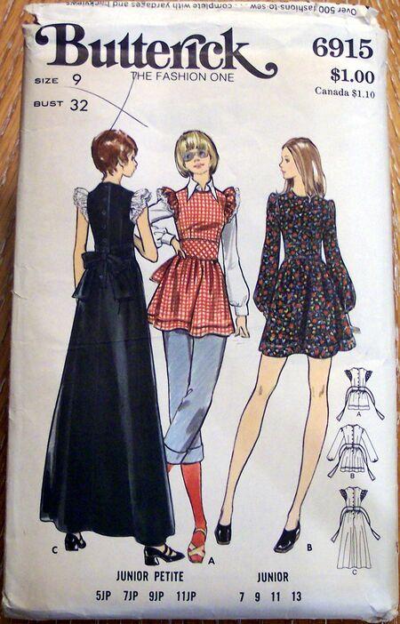 Vintage Artwear Patterns 072