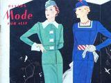 Beyers Mode für Alle No. 6 Vol. 11 1935