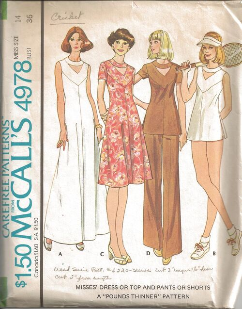 McCalls 4978 A