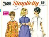 Simplicity 7586 A