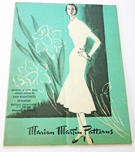 Marian Martin Spring 1951