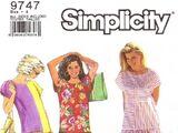Simplicity 9747 B