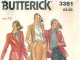 Butterick 3381 C