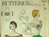Butterick 5274 B