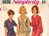 Simplicity 6698