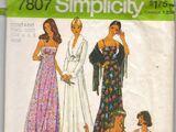 Simplicity 7807 A