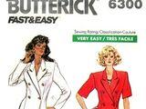 Butterick 6300