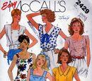 McCall's 2429 A