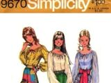 Simplicity 9670