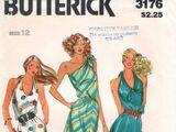 Butterick 3176 A