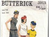 Butterick 3913 A