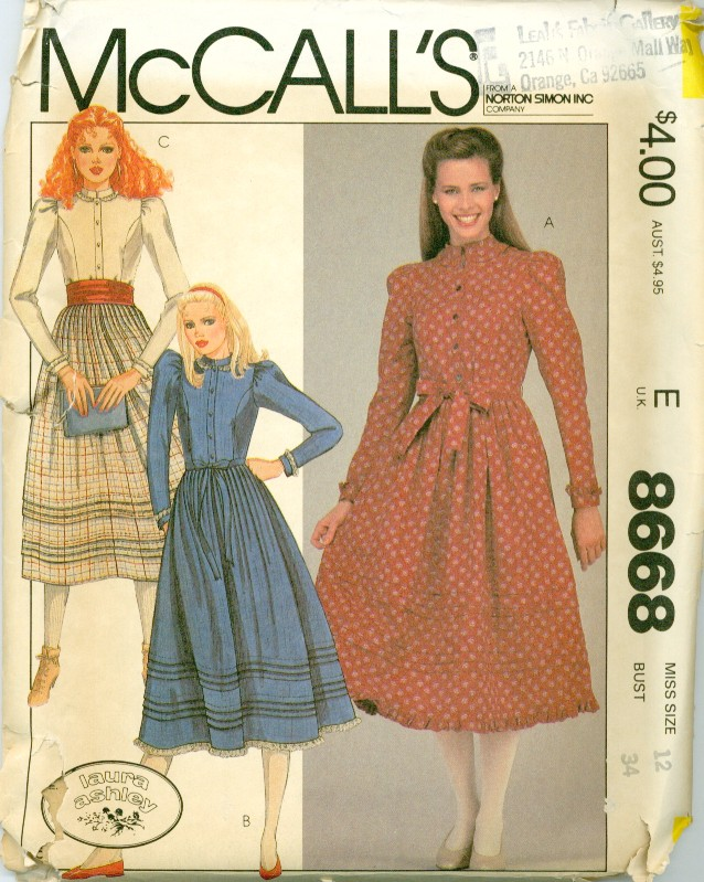 McCall's 8668 A image