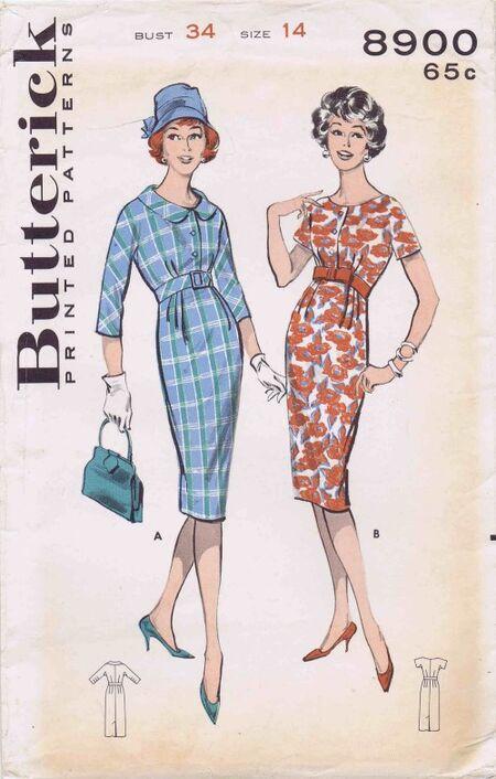 Butterick 1959 8900