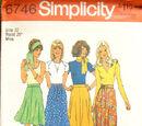 Simplicity 6746 A