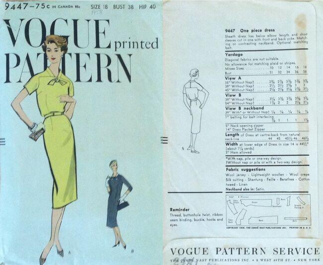 Vogue 9447 A