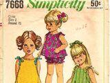 Simplicity 7668 A