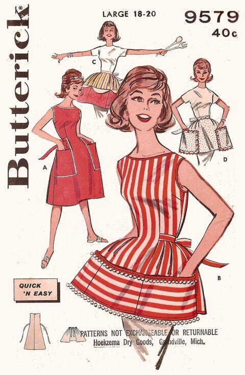 Butt9579 cobbler apron f