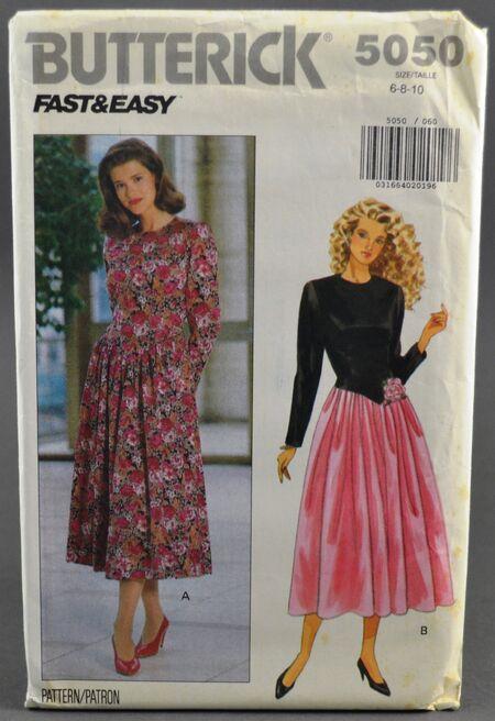 Butterick 5050 Misses' Dress 1