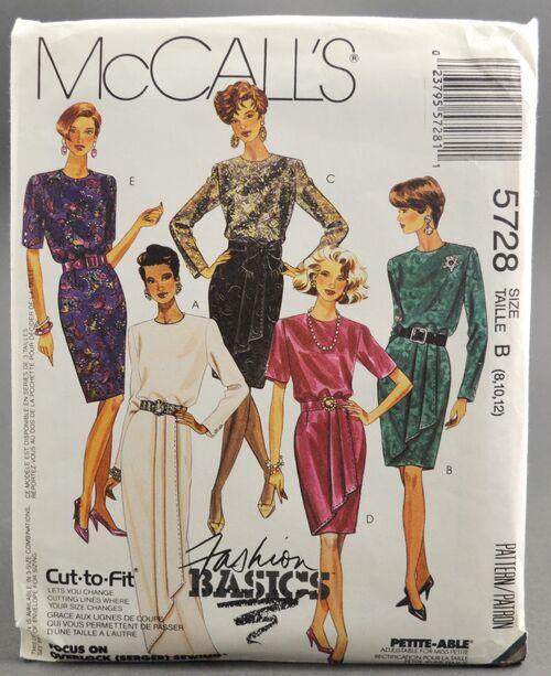 McCall's 5728 Dress 1