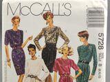 McCall's 5728 A