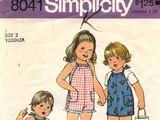 Simplicity 8041 A