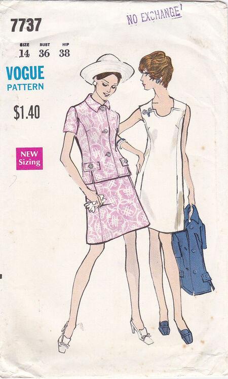 Pattern - Vogue 7737 02