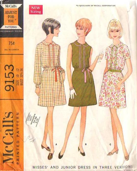 pattern mccalls 9153