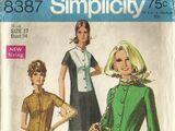 Simplicity 8387 B