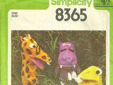 Simplicity 8365 A