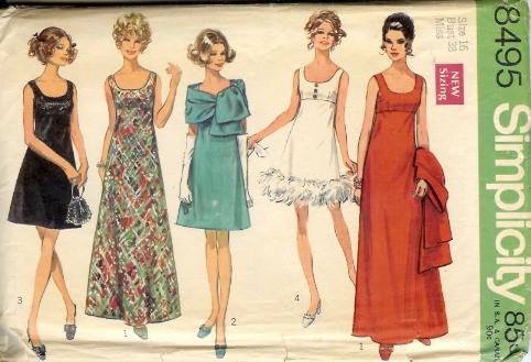 8495S 1969 Dress