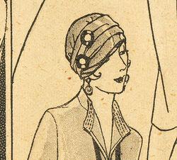 Butterick turban 6634