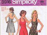 Simplicity 5916 B