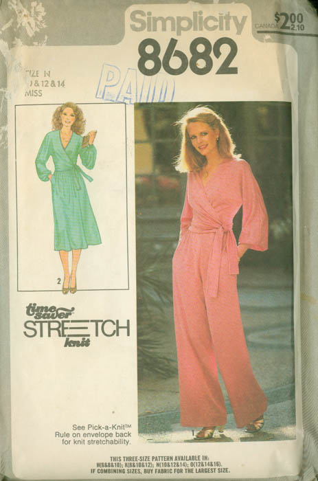 Simplicity 8682 A Vintage Sewing Patterns Fandom Powered By Wikia